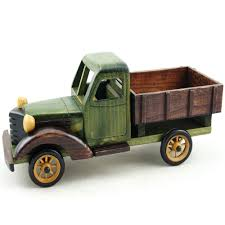 wooden truck toy cosette vintage truck collection home decoration gifts handmade