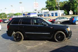 2007 jeep grand cherokee srt8 black used suv sale