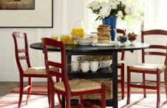 Small Drop Leaf Kitchen Table Round Drop Leaf Table Glass Dining Room Tables Built In Wall