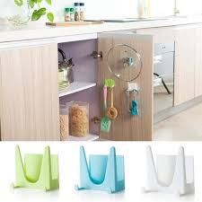 kitchen cupboard storage pans plastic kitchen pot pan cover shell cover sucker tool