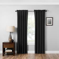 red fabric curtains u0026 drapes window treatments the home depot
