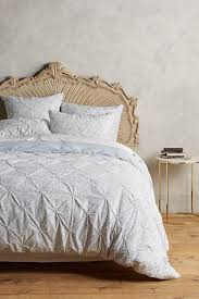 Anthropologie Bed Skirt Aldona Duvet Anthropologie