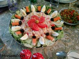 cuisine de meriem salade variée 2 photo de recettes salées la cuisine de meriem
