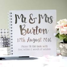 wedding wishes book wedding guest books and photo albums notonthehighstreet