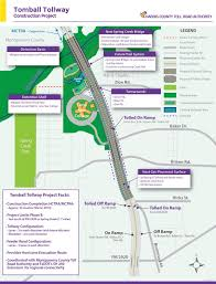 harris county toll road map take a look at hctra s all inclusive tomball tollway project