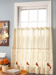 Kitchen Cafe Curtains Ideas Kitchen Cafe Curtains Lorraine Home Fashions Opaque Ribcord