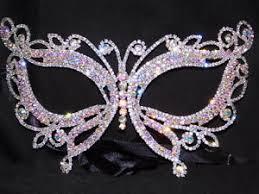 rhinestone mardi gras mask silver ab iridescent rhinestone masquerade butterfly mask mardi