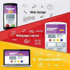 layout banner design flat material design banner web design layout of sites seo