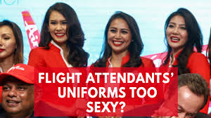 airasia uniform is malaysia s reputation being ruined by breast revealing airasia