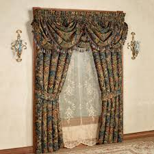 cassandra jacobean floral window treatment by j queen new york