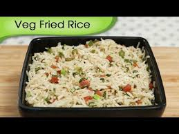 Chinese Main Dishes Easy - veg fried rice how to make fried rice simple and easy rice