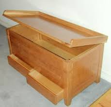How To Make A Wooden Toy Box by Toy Chests At Www Plesums Com Wood