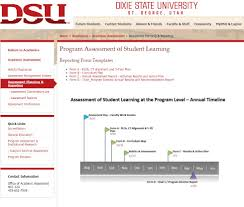 Dixie State University Map National Institute For Learning Outcomes Assessment