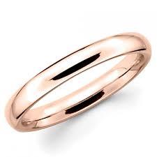 plain wedding band 10k solid gold 3mm plain wedding band ring 2413837 weddbook