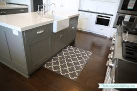 Farmhouse Kitchen Rug Priorities And New Kitchen Rugs The Side Up