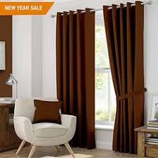 Brown Blackout Curtains Amazon Com Blackout Room Darkening Curtains Window Panel Drapes