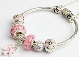 pandora style bracelet diy images Fashion women south korea style pandora bracelets glass beaded jpg