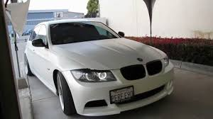 white wrapped cars bmw 335i wrapped in satin pearl white by impressive wrap youtube