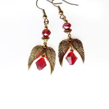 earrings world world of warcraft jewelry silvermoon blood earrings geeky