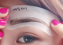 the 25 best eyebrow stencil ideas on pinterest brow stencils