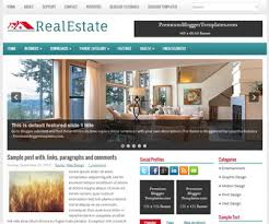 realestate blogger template blogger templates 2017