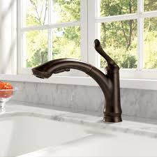 High Flow Kitchen Faucet by Bath4all Delta 4353 Dst Linden Pull Out Kitchen Faucet With