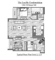 1301 h the lucille condominium is a new luxury condo on h street ne