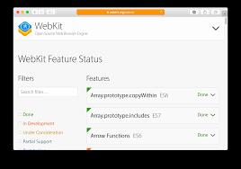 webdriver support in safari 10 webkit