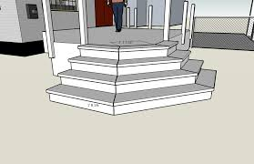 Corner Deck Stairs Design Deck Design Input Apron Stair Doityourself Community Forums