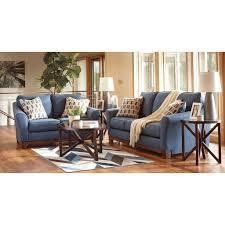 ashley furniture janley sofa exclusive denim living room furniture janley set benchcraft cart