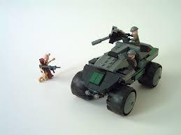 lego halo warthog lego warthog vs flood cory flickr