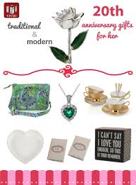20th anniversary gift for best 20th anniversary gift ideas for s
