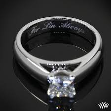 engraving engagement ring jewelry and ring engraving