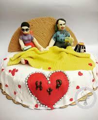 Romance U0026 Love Themed Anniversary Cake Edible Suger Figurines Of