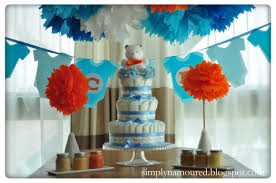 Home Made Baby Shower Decorations by Simply N Amoured Diy Baby Shower