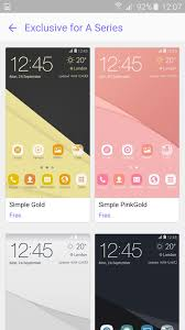galaxy themes store apk samsung launches exclusive themes for its new galaxy a 2016 line