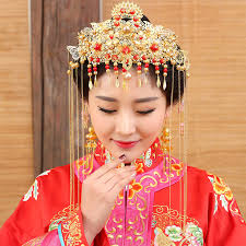 traditional hair accessories na ji traditional wedding hair tiaras for xiuhefu