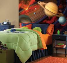 fun ideas simple wall murals for kids home decor inspirations space planet wall murals for kids