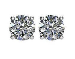 moissanite earrings moissanite earrings platinum harro moissanite stud earrings