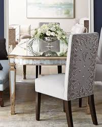 luxurious and elegant high back wood dining chair made in italy