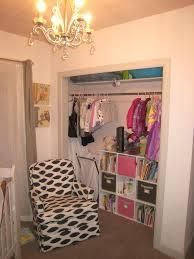 beat nursery closet organizer ideas with white wooden painting