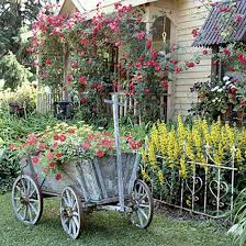 vintage furniture and garden decor 12 charming backyard ideas