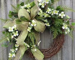 door wreaths etsy
