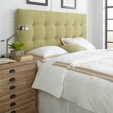 danielle king upholstered headboard kiwi green