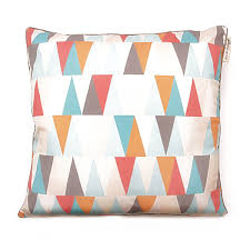 tribal triangle cushion cover square chic and darling
