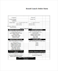 Excel Order Sheet Template Excel Order Form Template 15 Free Excel Documents