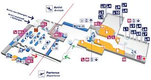 Airport Terminal Floor Plans by Map Of Rome Airport Transportation U0026 Terminal