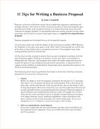 Business Proposal Letter Template Proposal Writing Sample Business Proposal Templated Business