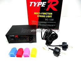 ps 704 type r multi function car strobe light with controller 4