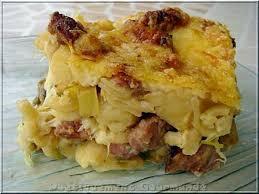 cuisiner le poireaux recette de gratin de cornettis au fondu de poireaux et béchamel